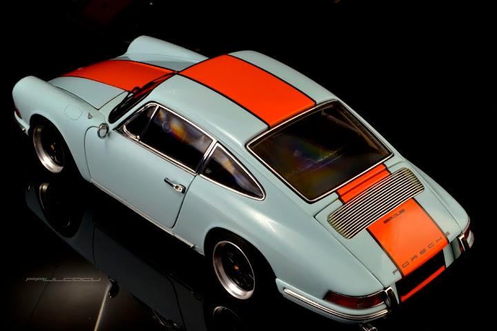 Porsche 911 Gulf 1:18