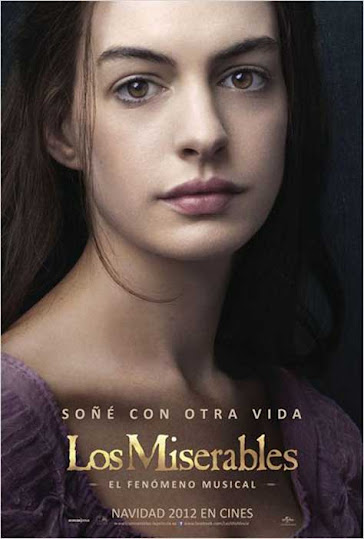 "Los Miserables, cartel con Anne Hathaway"" width="