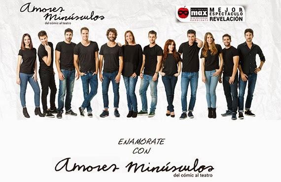 Amores Minúsculos triunfa en el Teatro Lara