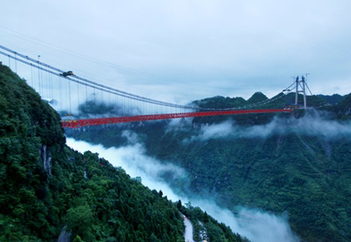 """湘西行(一):迷失在""""金门大桥"""""""