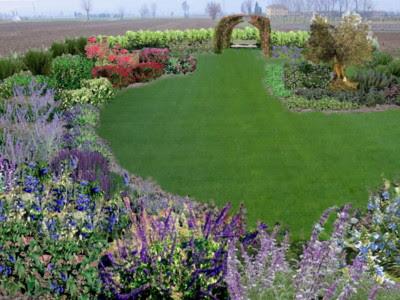progetti gratis giardini con piante aromatiche
