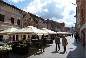 Strada Rrepublicii (Calle Republicii) - Braşov