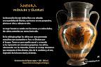 Ánfora Hoplitas. Cultura griega