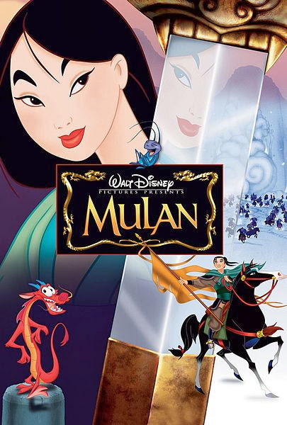 Poster Of Mulan (1998) Full Movie Hindi Dubbed Free Download Watch Online At Alldownloads4u.Com