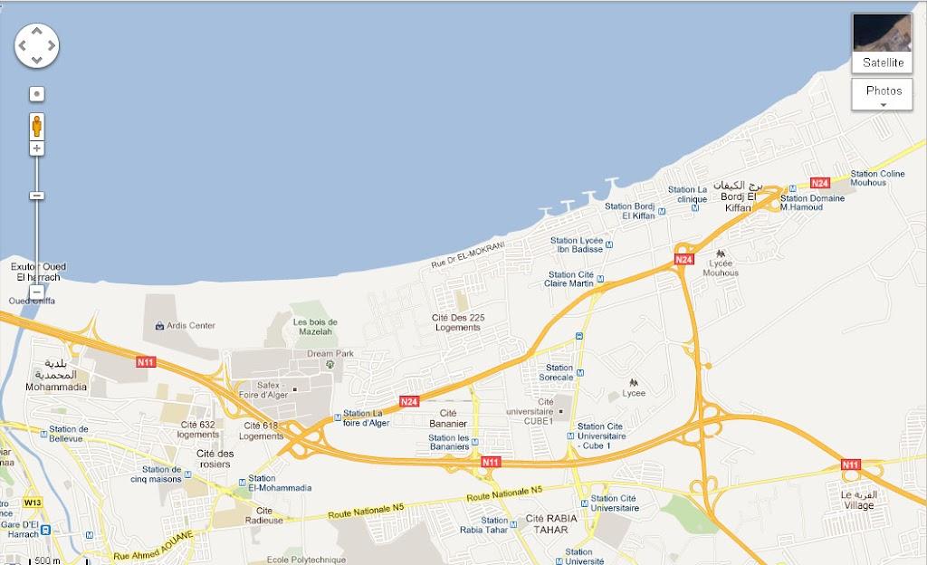 Mapping Algiers - Cartographie de la région d'Alger. رسم خريطة العاصمة Tramway%2Balger