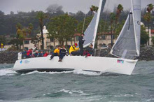 J/120 one-design sailboat- sailing San Diego NOOD regatta