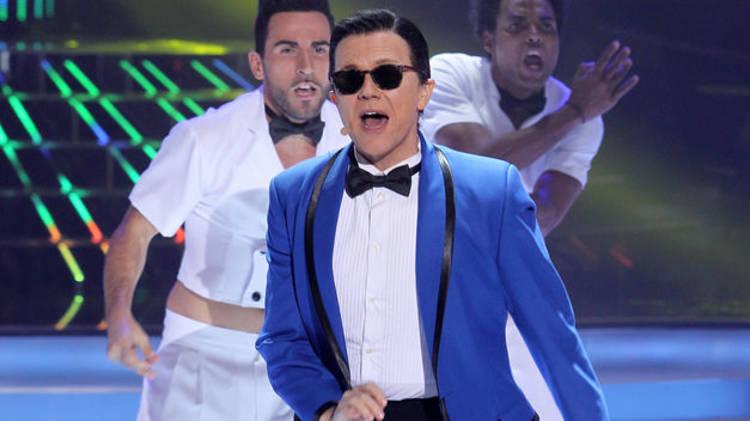 """Santiago Segura en """"Tu cara me suena"""", de Antena 3"""