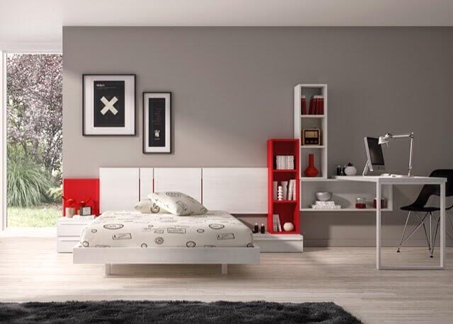 Dormitorios juveniles kids touch ros - Ver dormitorios juveniles ...