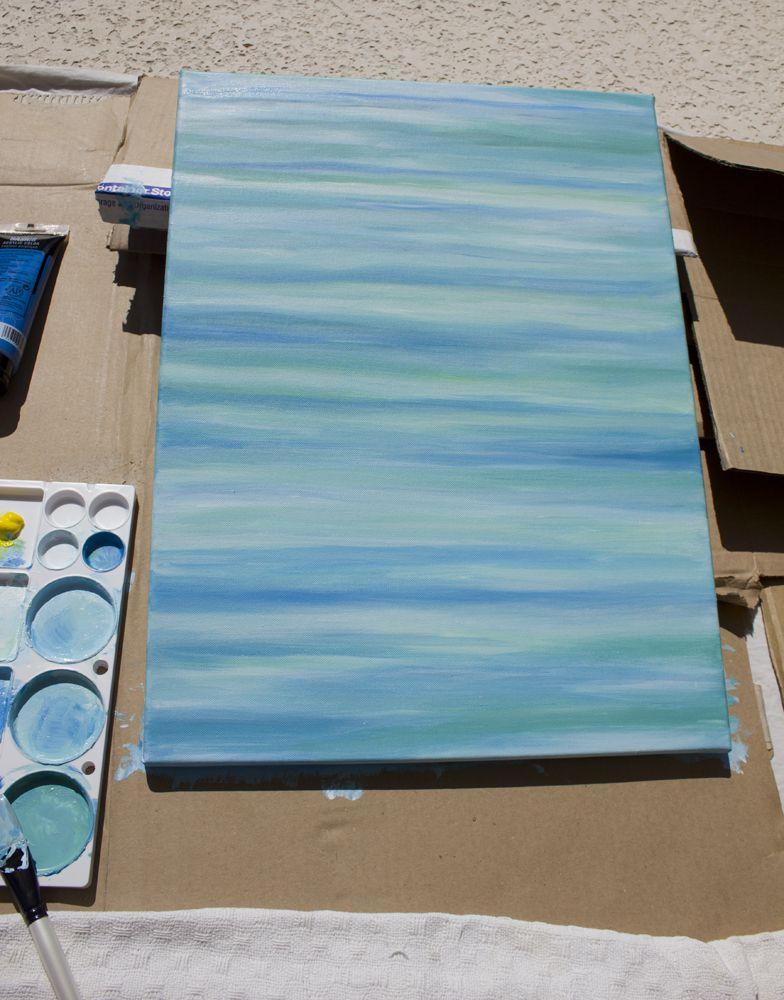 Diy abstract painting jenna sue design blog for Diy watercolor abstract art