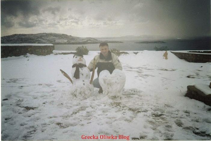 śniegowe serce, bałwan, mężczyna, Zima, pogoda