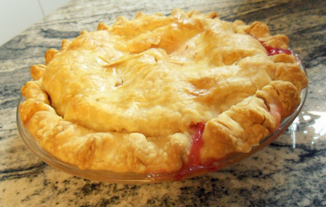 Cran-Apple Pie {peasandcues}