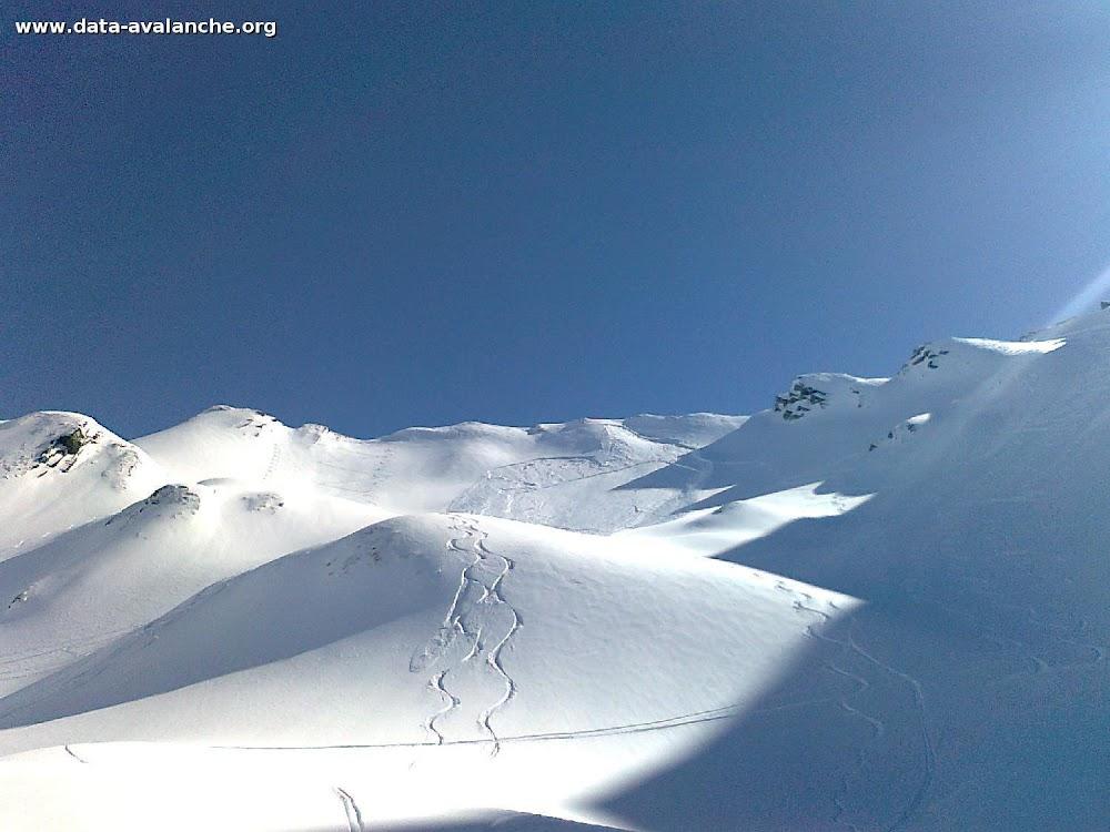 Avalanche Aravis, secteur Ambrevetta, Combe de Tardevant - Photo 1