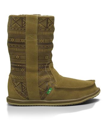 #SANUK WANDERER PRIMO:裡外兼具的麂皮雷雕民俗雪靴! 2