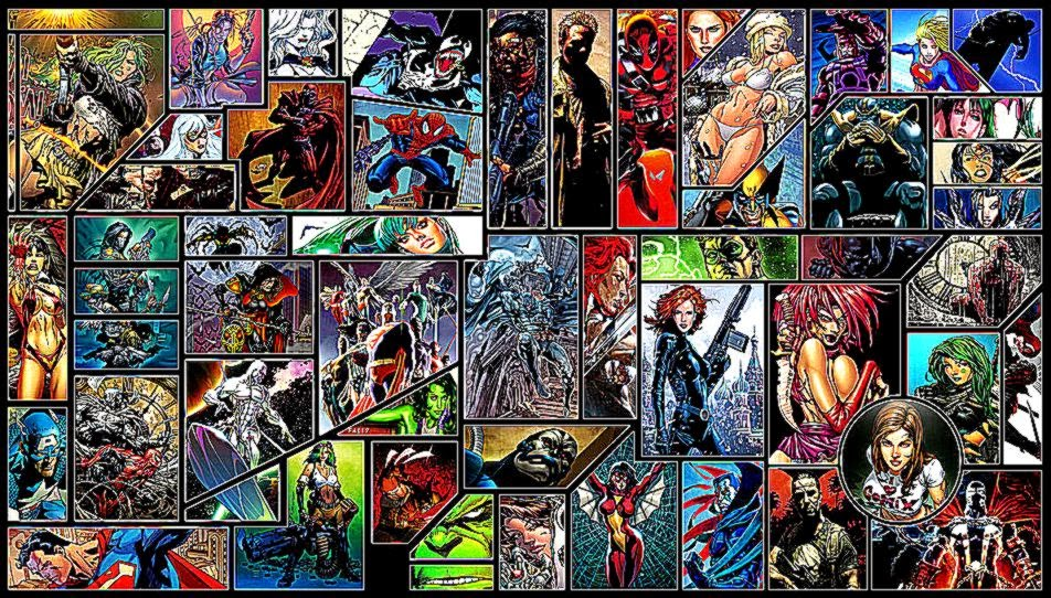 Comics Wallpaper by Helixwolf on DeviantArt