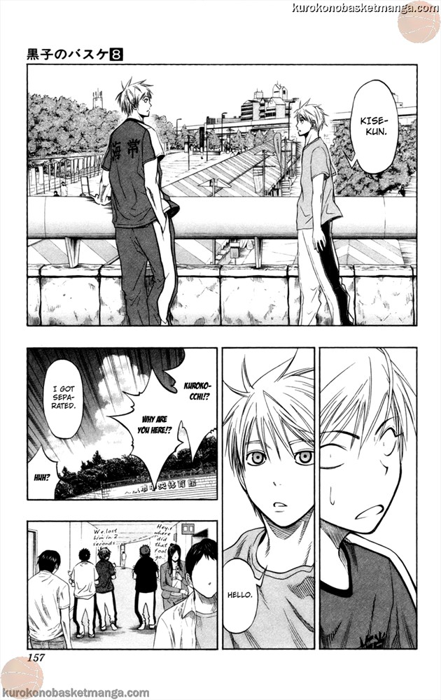 Kuroko no Basket Manga Chapter 68 - Image 11