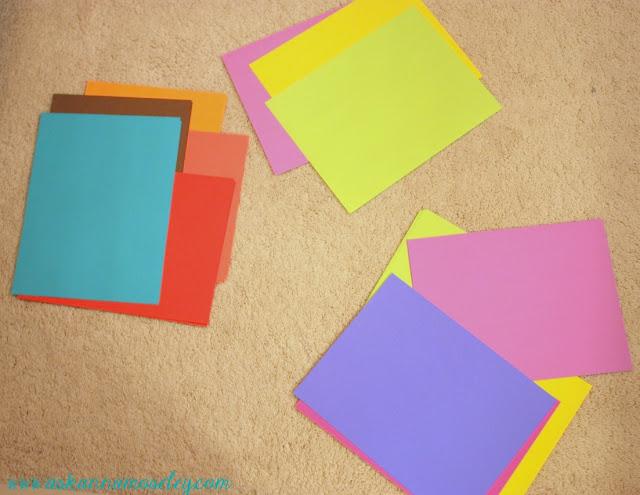 AstroBrites Paper colors