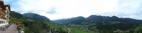 Panorama dall'Hotel Lagorai sulla Val di Fiemme