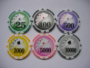 chip poker số to
