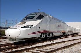 Un 5% más de usos del tren Alvia entre Madrid y Logroño en 2018