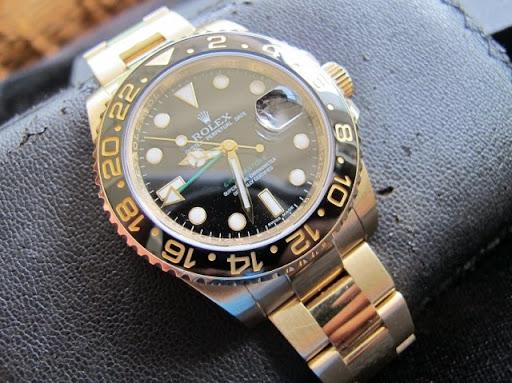 Bán đồng hồ rolex gmt – vàng 18k – model 116718 – vành đen ceramic – size 40mm