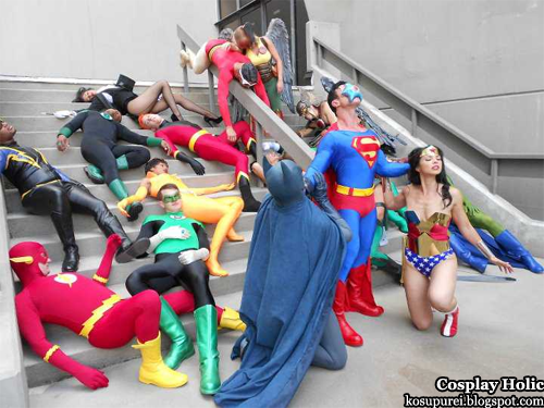 dc comics cosplay - justice league