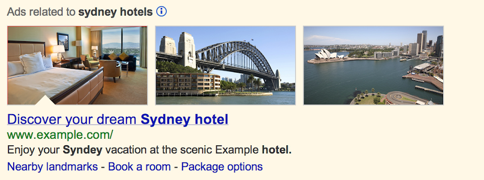 Google Search Photo Banner