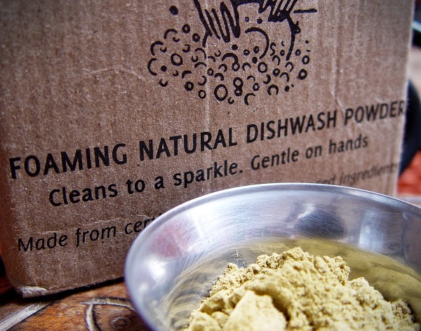 Krya Natural Dishwash Powder