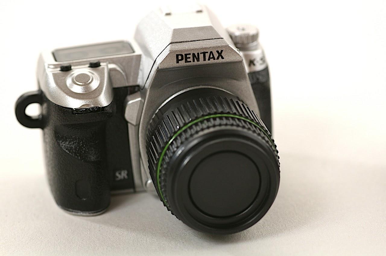 PENTAX可換鏡頭轉蛋