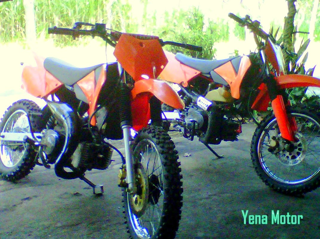 Honda Win Modifikasi Cross
