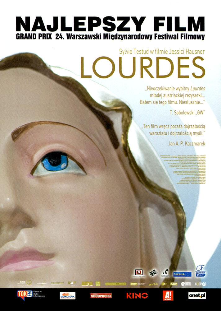Ulotka filmu 'Lourdes (przód)'