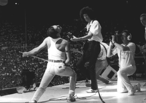 Queen - Fred Mercury e Brian May