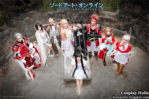 sword art online cosplay cast