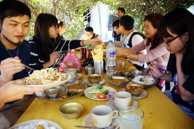 達人帶路-環遊世界-尼泊爾PoonHill健行-吃飯