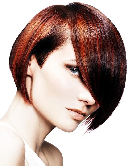 красивое окрашивание волос на короткие волосы новогоднего