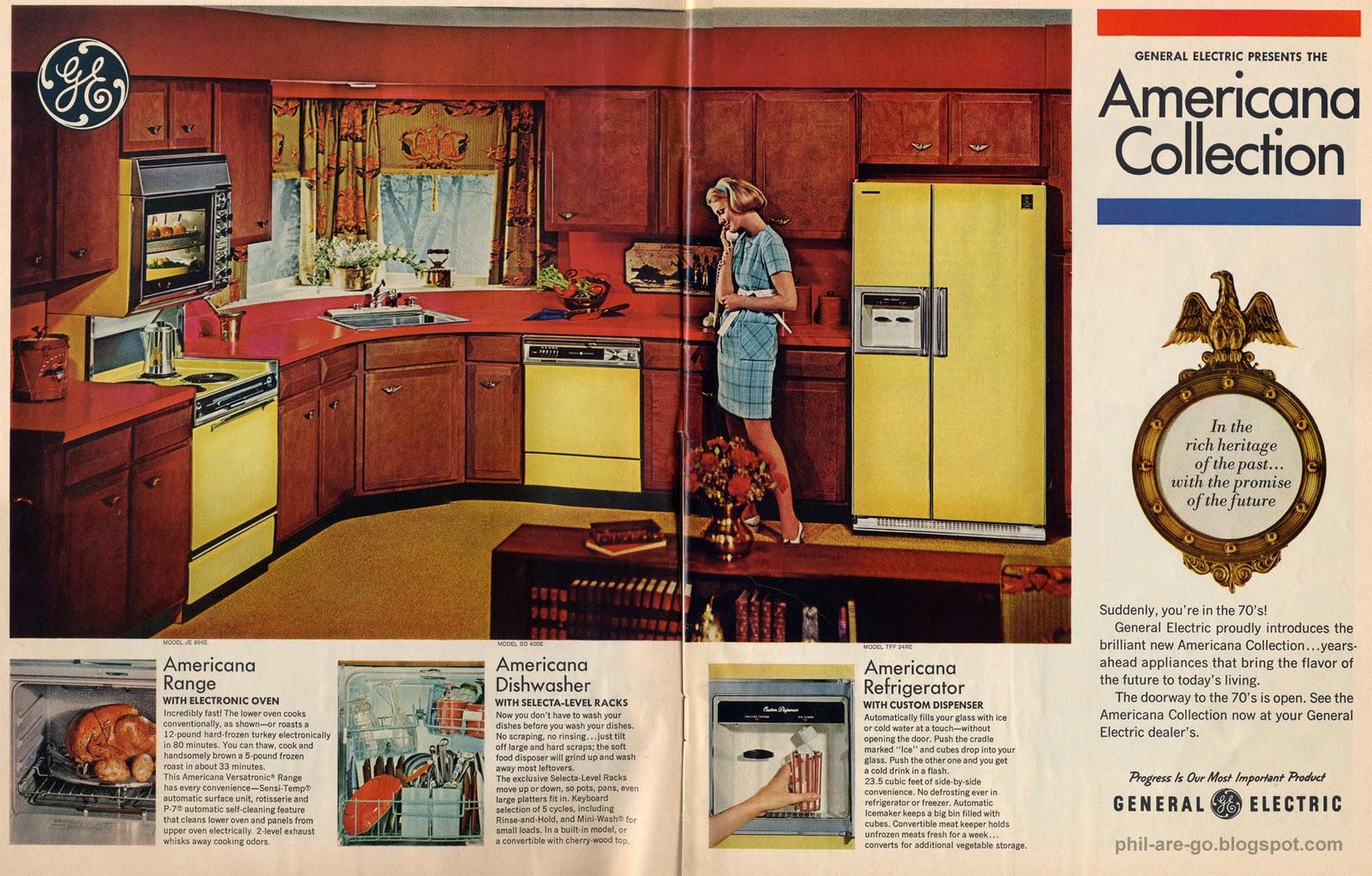 GE Americana Electric Range
