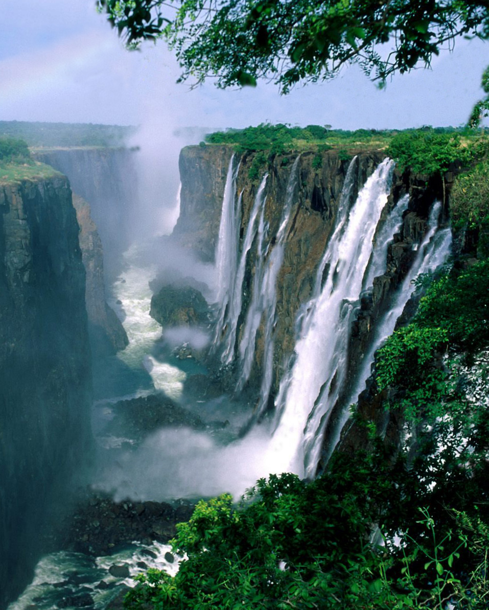 The Victoria Falls : World's Largest Waterfall