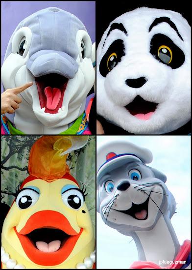 Mascots of Ocean Park