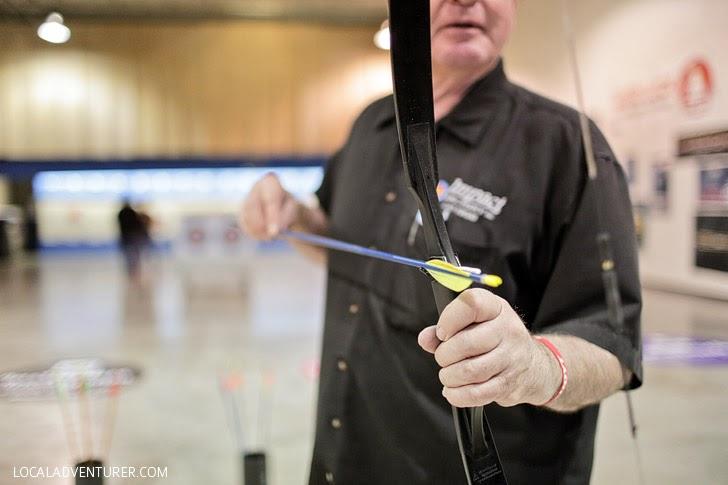 Archery Lessons for Kids at Impact Archery Las Vegas.
