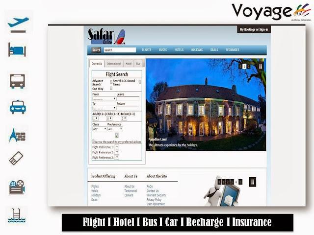 travel portal web developemnt