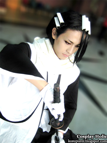 bleach cosplay - kuchiki byakuya 2