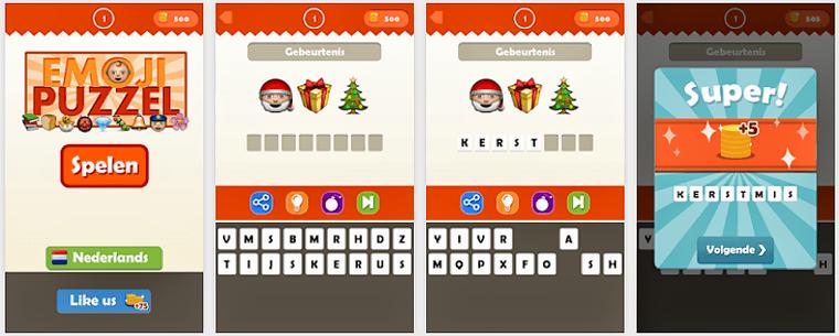 Emoji Quiz App voor Android, iPhone en iPad