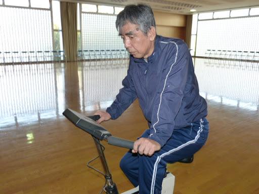 自転車に挑戦