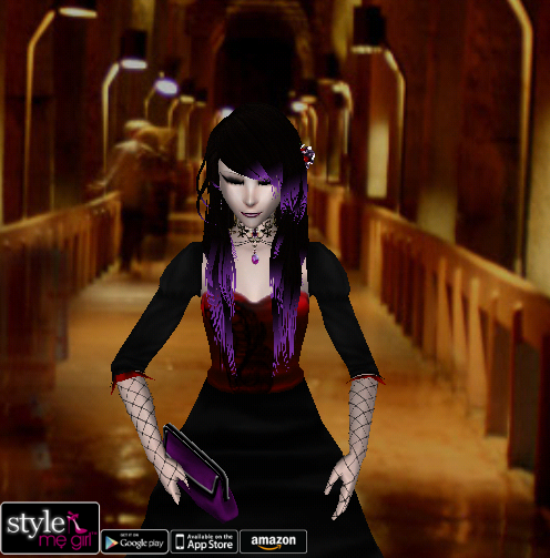 Style Me Girl Level 35 - Elisia - Romantic Vampire