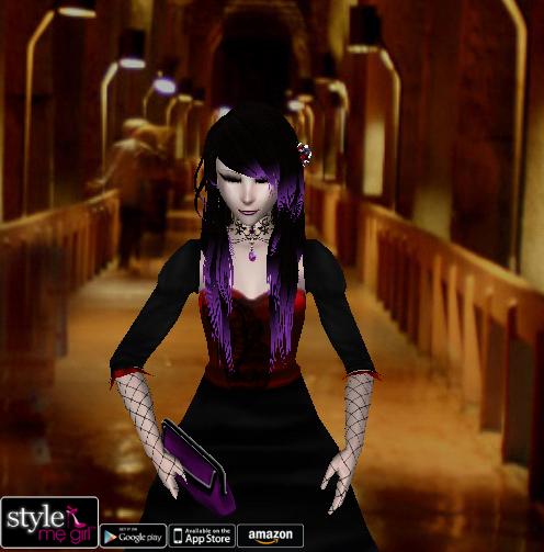 Style Me Girl Level 35 - Elisia - Romantic Vampire