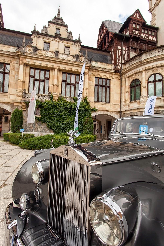 Principele Nicolae la Concursul de Eleganță Retromobil 2014