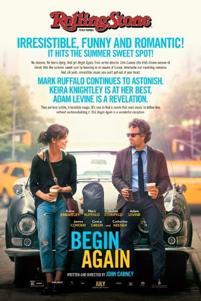 Poster Of English Movie Begin Again (2013) Free Download Full New Hollywood Movie Watch Online At Alldownloads4u.Com