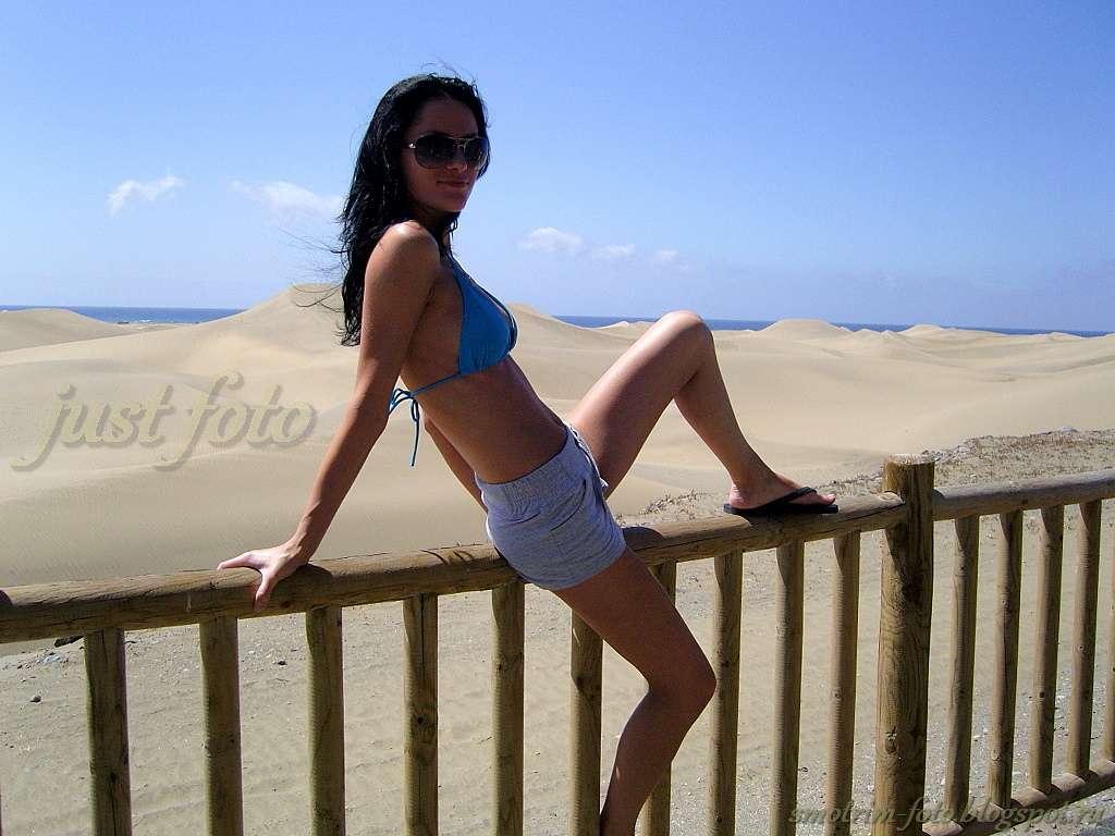 Дюны острова Гран Канария фото