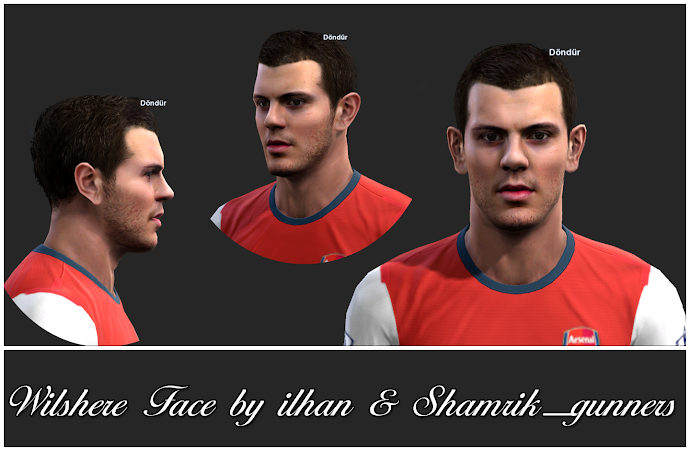 Wilshere Face - PES 2013