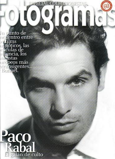 Paco Rabal, portada de Fotogramas
