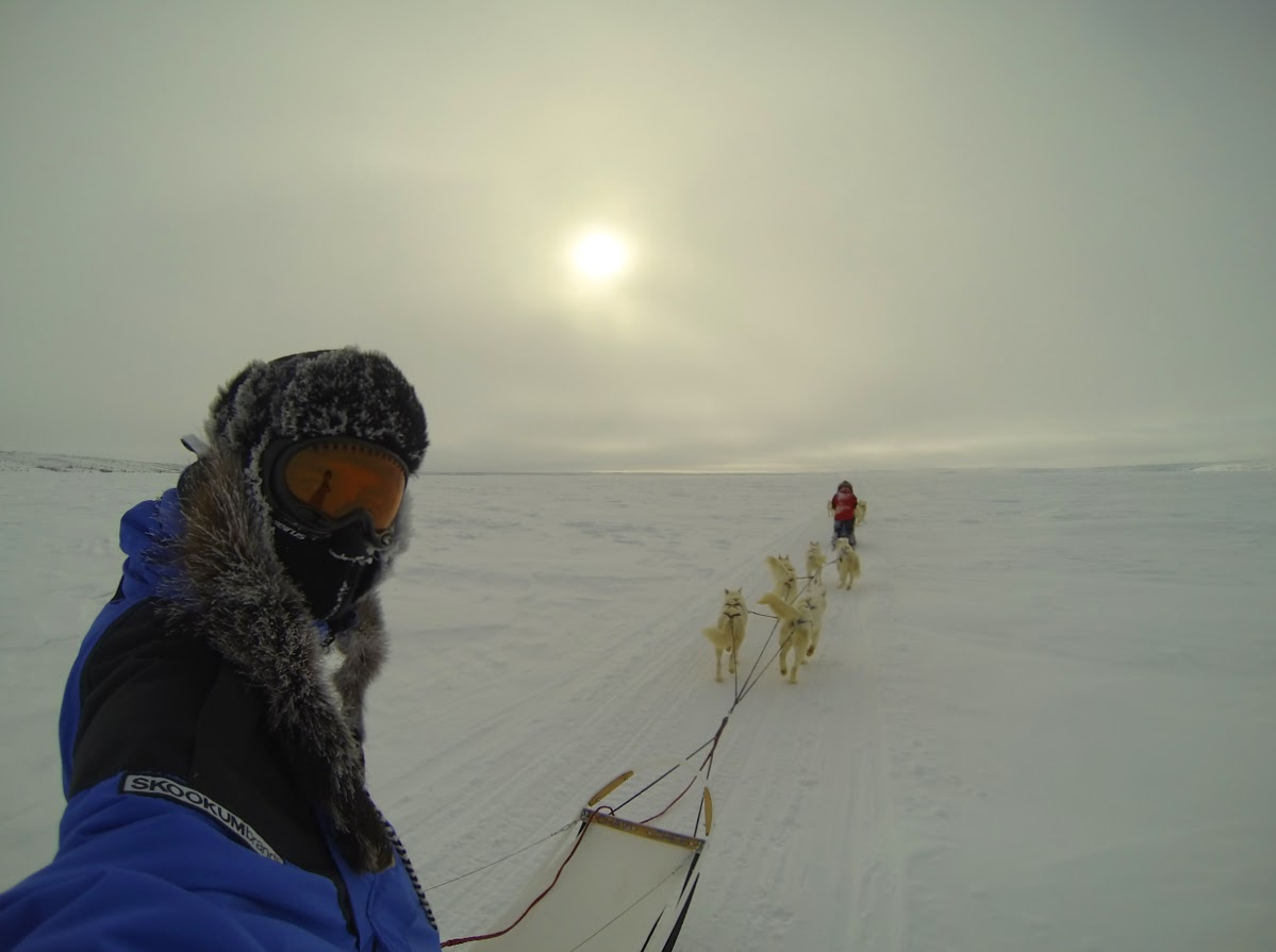 White tundra ride